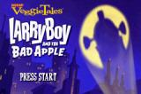 VeggieTales: LarryBoy and the Bad Apple Game Boy Advance Title screen