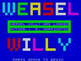 Don't Buy This ZX Spectrum Weasel Willy : load screen