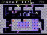 Mr. Do! ColecoVision Destroy the alphamonster to earn a letter in the word EXTRA