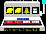 Don't Buy This ZX Spectrum Fruit Machine : A hold after a win.