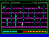 Buriabeast ZX Spectrum Level 1 - start Just the three aliens to deal with