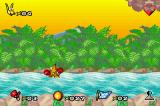 Kao the Kangaroo Game Boy Advance The animation of Kao drowning is a bit macabre...