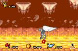 Kao the Kangaroo Game Boy Advance The lava is so hot, even in death Kao's tail is still burning.