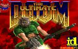 The Ultimate DOOM DOS Title screen