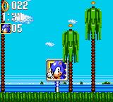 Sonic the Hedgehog: Triple Trouble Game Gear The good old end-of-level sign