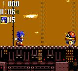 Sonic the Hedgehog: Triple Trouble Game Gear Level two