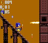 Sonic the Hedgehog: Triple Trouble Game Gear In a lorry