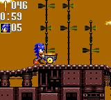 Sonic the Hedgehog: Triple Trouble Game Gear It won't move!