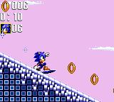 Sonic the Hedgehog: Triple Trouble Game Gear Snowboarding