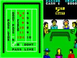 Monte Carlo Casino ZX Spectrum The CRAPS table at the start of a throw. Options are Bet or Quit