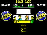 Monte Carlo Casino ZX Spectrum I can start the game or change the stake. I only have a little money left so I chose to start