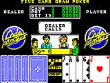 Monte Carlo Casino ZX Spectrum Hand four - I have nothing sop I try a bluff. The dealer calls