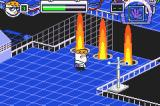 Dexter's Laboratory: Deesaster Strikes! Game Boy Advance Fire pillars