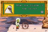 Shrek the Third Game Boy Advance Cameos from other Dreamworks films explain the controls and game mechanics.