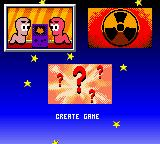 Worms: Armageddon Game Boy Color Main Menu