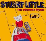 Stuart Little: The Journey Home Game Boy Color Title Screen