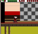 Stuart Little: The Journey Home Game Boy Color Stuart walking along