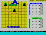 The Korth Trilogy 3: Into the Empire ZX Spectrum Oldren : The game starts like this