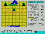 The Korth Trilogy 3: Into the Empire ZX Spectrum Oldren : You then give movement orders to each of your unit's individually. unit's 3-9 can only accept commands 0-6. The two special units have beam weapons and can accept all orders