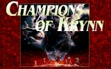 Champions of Krynn PC-98 Title screen