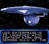 Star Trek: Generations - Beyond the Nexus Game Gear Intro: Launch of the Enterprise-B
