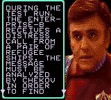 Star Trek: Generations - Beyond the Nexus Game Gear Cut-scene: The Enterprise-B receives a distress call