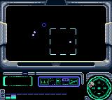 Star Trek: Generations - Beyond the Nexus Game Gear Navigating towards the refugee ships in the nexus