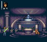 Super Star Wars: Return of the Jedi Game Gear Level 2: In the dancing hall of Jabba's palace
