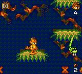 Garfield: Caught in the Act Game Gear This snake's teeth would make any beaver jealous.