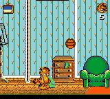 Garfield: Caught in the Act Game Gear Bonus stage: Destroy as much as possible until the time runs put.