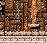 Garfield: Caught in the Act Game Gear Boss fight