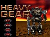 Heavy Gear Windows Game start menu