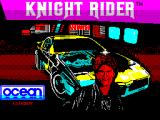 Knight Rider ZX Spectrum Splash screen