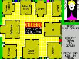 Cluedo ZX Spectrum Each player rolls to see who's the dealer. Highest roll wins. If there is a tie then the tying players re-roll until there is a winner