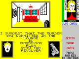 Cluedo ZX Spectrum If a human player does not answer the question ' do you have a card?' truthfully the game corrects them