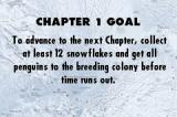 March of the Penguins Game Boy Advance Chapter one goal