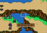 Shining Force Genesis Lots of terrain, including this mountain pass