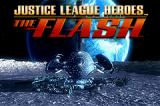 Justice League Heroes: The Flash Game Boy Advance Title screen