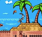 Looney Tunes: Carrot Crazy Game Boy Color Bugs Bunny running around collecting carrots