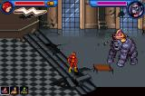 Justice League Heroes: The Flash Game Boy Advance Fighting the gorilla