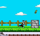 Looney Tunes: Twouble! Game Boy Color Sylvester chasing Tweety