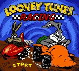 Looney Tunes Racing Game Boy Color Title Screen