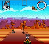 Looney Tunes Racing Game Boy Color Bugs Bunny racing in his carrot car