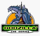 Godzilla: The Series Game Boy Color Title Screen