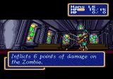 Shining Force Genesis Hans defeats the enemy