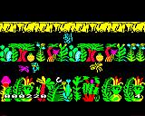 Sabre Wulf BBC Micro The Tribesman up top is indestructible but he can be turned away from you by attacking him.
