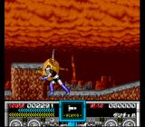 Mazinger Z SNES Mazinger Z shows off some of its own wrestling moves.