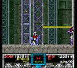 Mazinger Z SNES Minerva X can attack Mazinger Z with her own versions of its attacks.