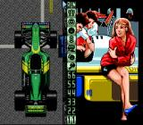 Battle Grand Prix SNES Set up your car.