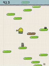 Doodle Jump J2ME Using the springs to jump higher